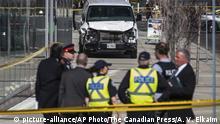 Kanada Wagen rast in Menschen auf einer Kreuzung in Toronto