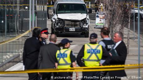 Наїзд на людей у Торонто: загинуло 10 осіб