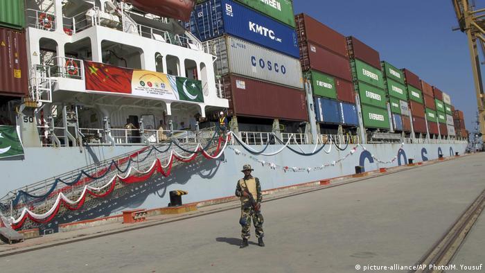 Gwadar port in Pakistan