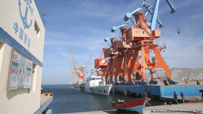 Gwadar port, a part of CPEC, in Pakistan's western Baluchistan province