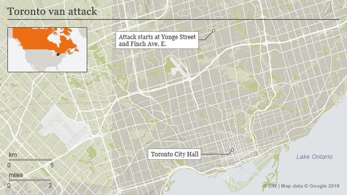map of Toronto ENG