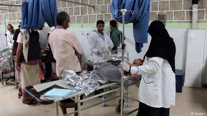 Opfer eines saudischen Luftangriffs im Jemen (Reuters)