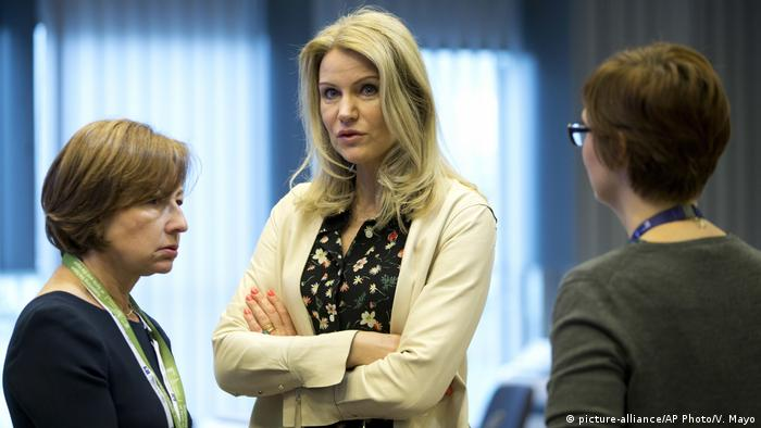 Hilfsorganisation Save the Children Helle Thorning-Schmidt (picture-alliance/AP Photo/V. Mayo)