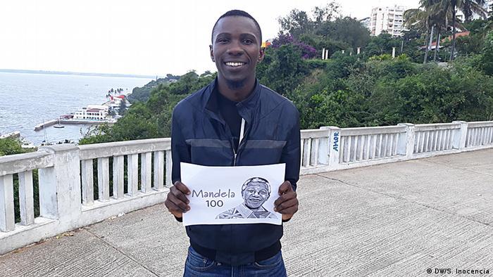 André Cardoso aus Mosambik