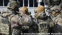 Training of special units of the SBU on the proving ground near Kiev, Ukraine on 24 March 2018. (Photo by Maxym Marusenko/NurPhoto) | Keine Weitergabe an Wiederverkäufer.