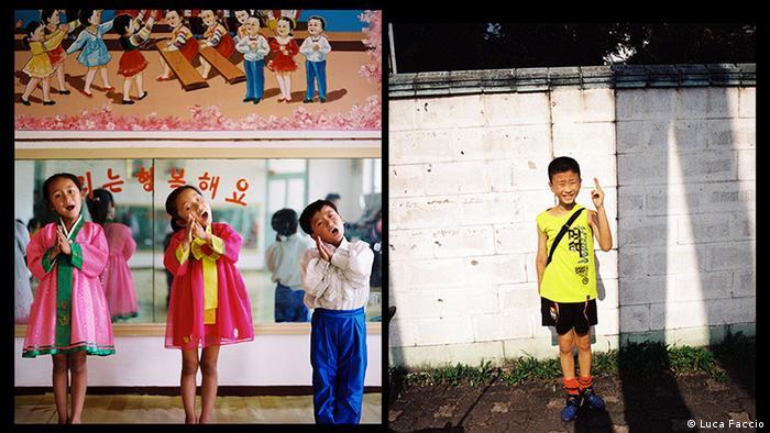 Школьники из Северной и Южной Корей