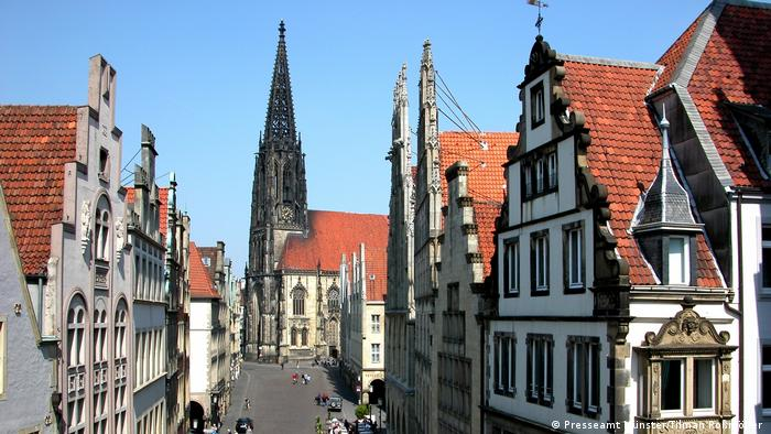 View of downtown Münster