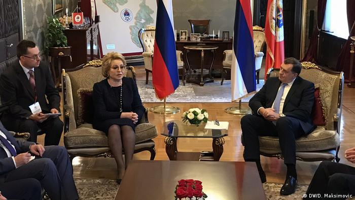 Rusische Delegation zum Besuch in Bosnien Herzegowina