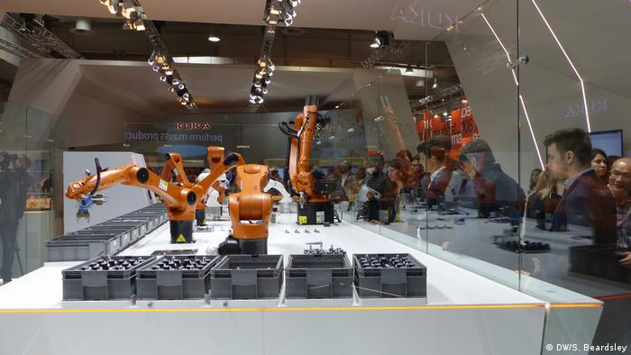 Hannover Messe 2018 Roboter