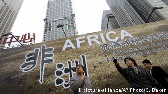 Symbolbild chinesische Auslandshilfe in Afrika