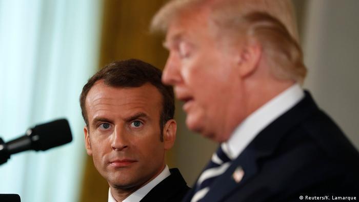 نگرانی مکرون از ثبات خاورمیانه در گفتوگوی تلفنیاش با ترامپ، اشاره به رویارویی اخیر اسرائیل و ایران در سوریه است