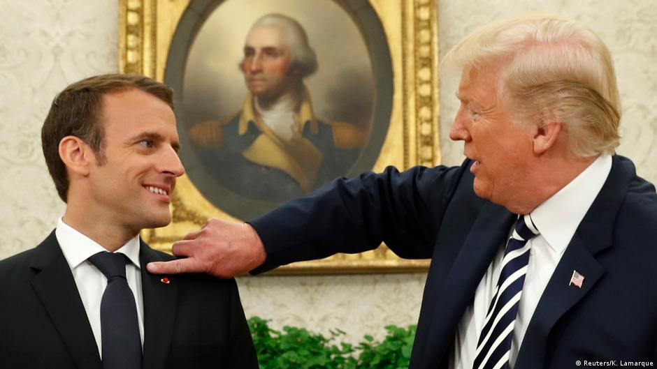 Trump A Aposta Perigosa De Macron Noticias Internacionais E Analises Dw 25 04 2018