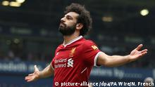 West Bromwich Albion - FC Liverpool Mohamed Salah