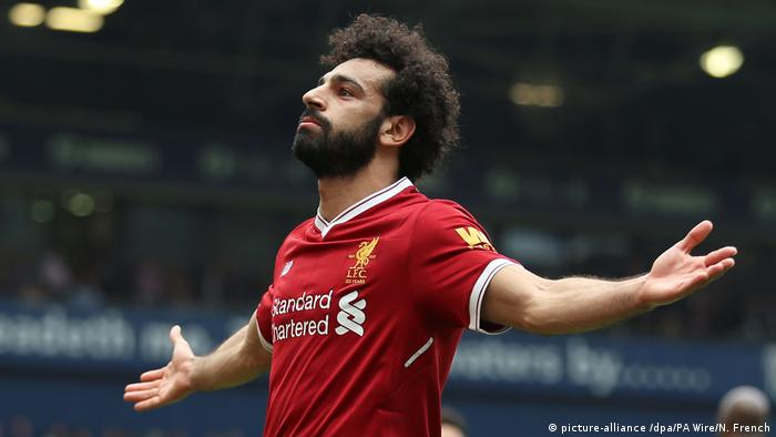 West Bromwich Albion - FC Liverpool Mohamed Salah (picture-alliance /dpa/PA Wire/N. French)
