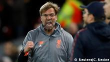 Champions League Liverpool vs AS Rom Klopp
