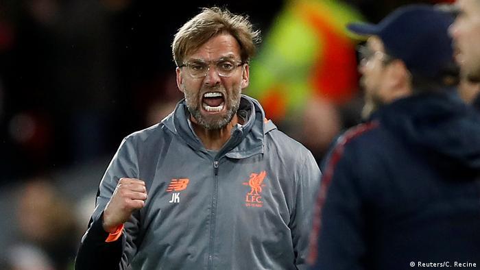 Champions League Liverpool vs AS Rom Klopp (Reuters/C. Recine)