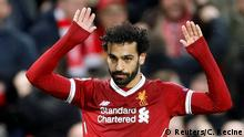 Champions League Liverpool vs AS Rom Salah