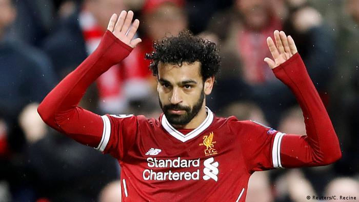 Champions League Liverpool vs AS Rom Salah
