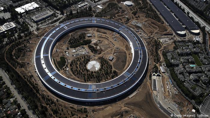 Штаб-квартира Apple в Каліфорнії