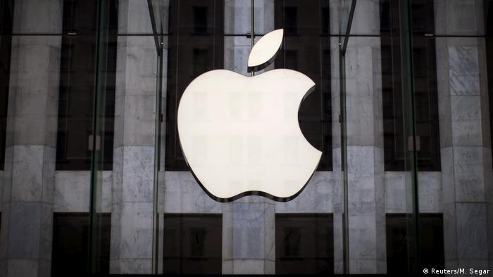 New York City Apple Logo (Reuters/M. Segar)