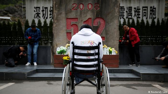 China BG 10 Jahre Erdbeben Sichuan (Reuters/J. Lee)