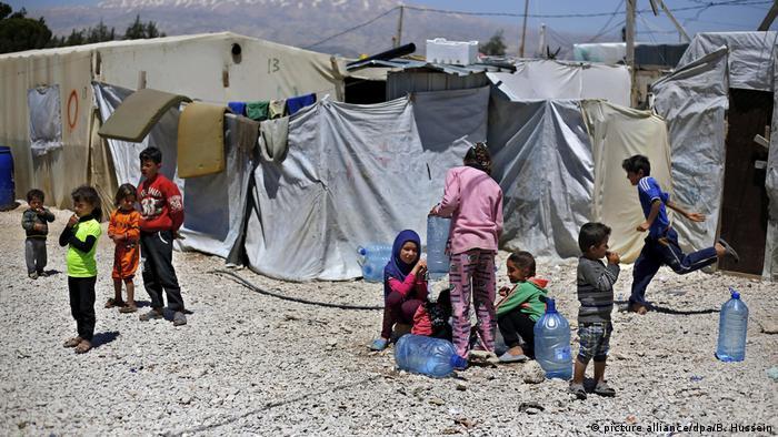 Symbolfoto Flüchtlingskinder / Minderjährige Flüchtlinge