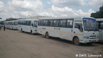 Mosambik Busse in Nampula