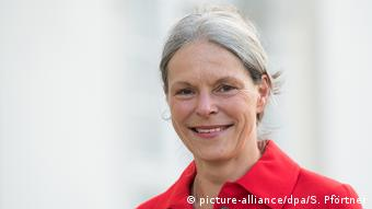 Die Generaldirektorin der documenta, Sabine Schormann (picture-alliance/dpa/S. Pförtner)