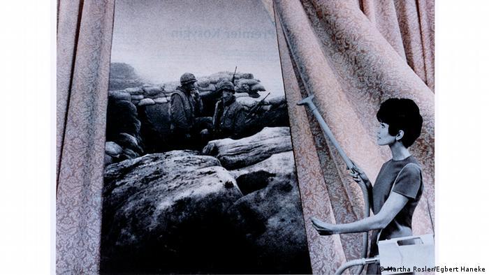 Марта Рослер, За чищенням гардин із серії Прекрасний будинок: Як війна приходить до нас додому, 1967-1972 роки