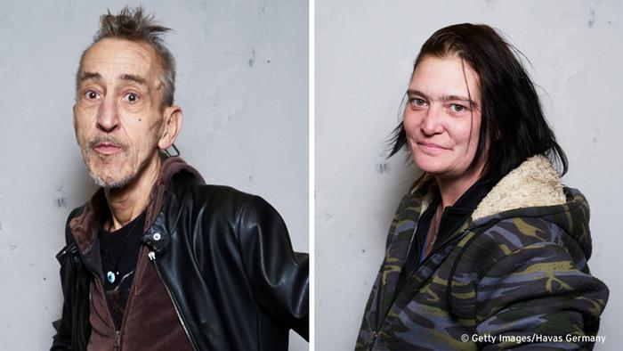 Герои фотопроекта Repicturing Homeless