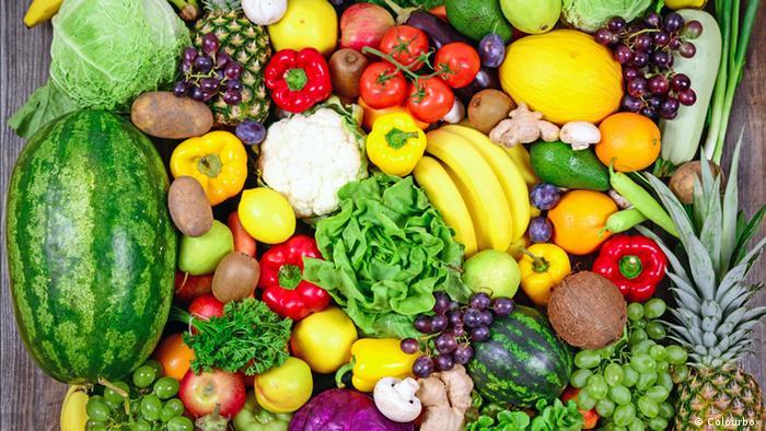 Obst und Gemüse (Colourbox)