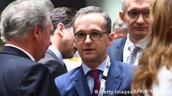 Syrien-Geberkonferenz in Brüssel Bundesaußenminister Maas (Getty Images/AFP/E. Dunand)