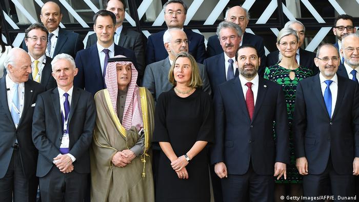 Syrien-Geberkonferenz in Brüssel (Getty Images/AFP/E. Dunand)