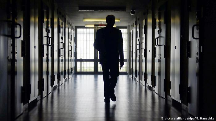 Archivbild: Deutschland, Brandenburg: Gefängnis JVA Duben (picture-alliance/dpa/M. Hanschke)