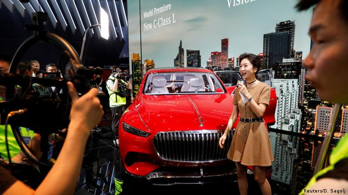 2018 Beijing International Automobile Exhibition | Mercedes-Maybach Ultimate Luxury (Reuters/D. Sagolj)