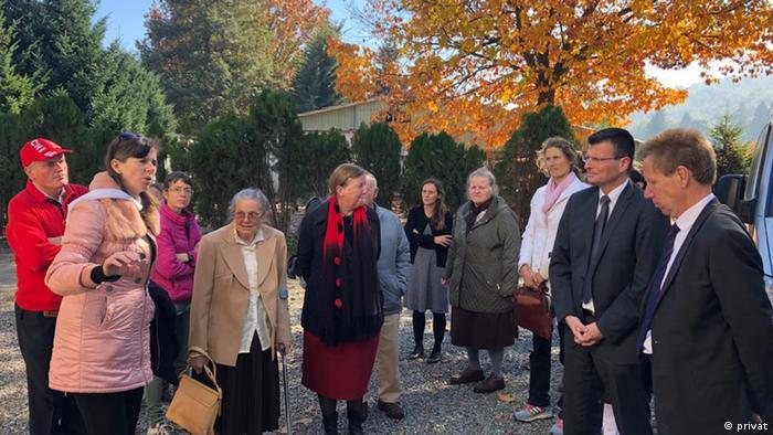 Juristas alemanes visitan la ex Colonia Dignidad junto con víctimas y familiares de estas. (2018).