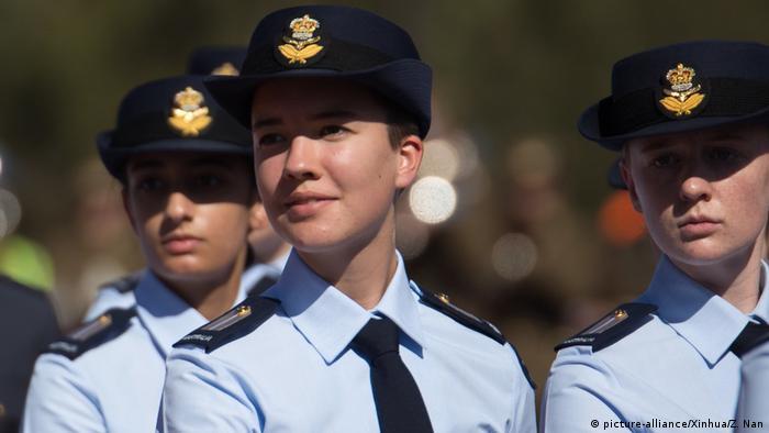 Canberra, Australia, ANZAC Day parade (picture-alliance/Xinhua/Z. Nan)