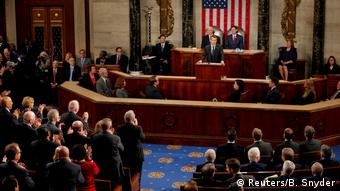 USA Capitol Hill in Washington   Emmanuel Macron, Präsident Frankreich