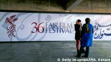 Besucherinnen beim 36. Fajr Film Festival (Getty Images/AFP/A. Kenare)