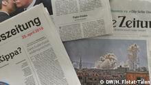 Symbolbild Presseschau Zeitungen