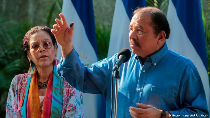 Nicaragua Präsident Daniel Ortega (Getty Images/AFP/I. Ocon)
