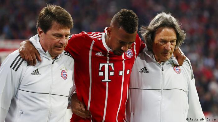 UEFA Champions League Halbfinale   FC Bayern München - Real Madrid   Auswechlsung Boateng (Reuters/M. Dalder)