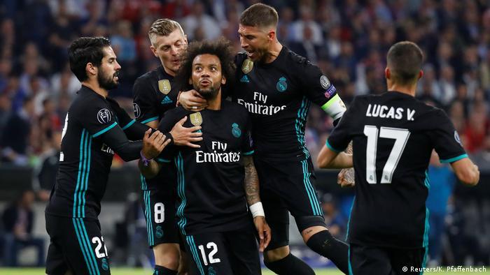 UEFA Champions League Halbfinale | FC Bayern München - Real Madrid | TOR Madrid (Reuters/K. Pfaffenbach)