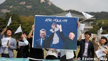 Korea - Pro-Unification-Rallye