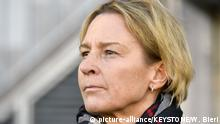 Frauenfußball - Martina Voss-Tecklenburg (picture-alliance/KEYSTONE/W. Bieri)
