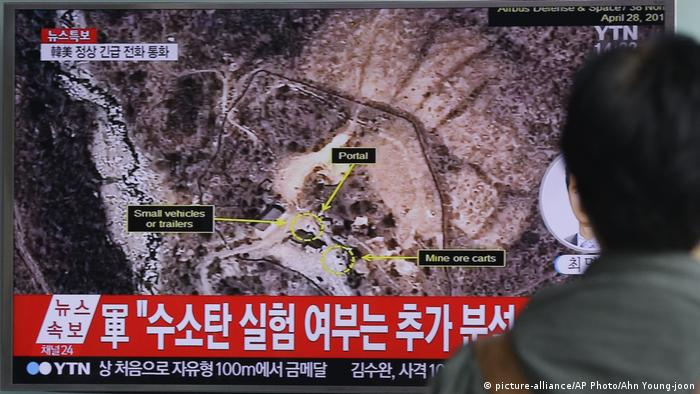 North Korea's nuclear test site at Mount Mantap