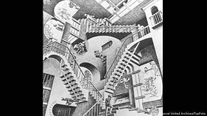 'Relativity' by M.C. Escher (Photo: picture-alliance/ United Archives/TopFoto)