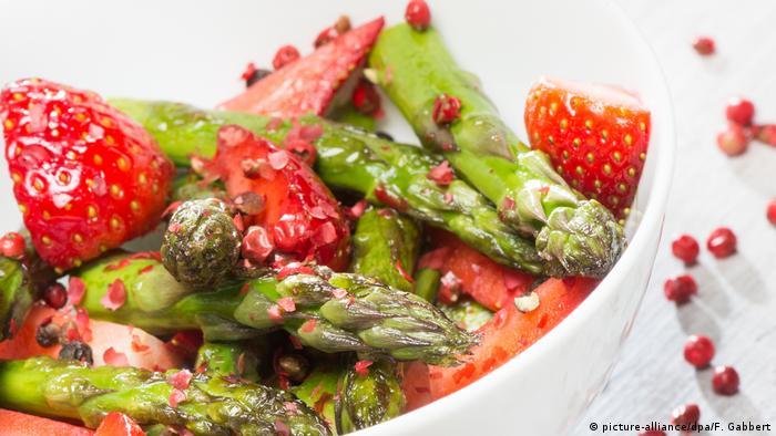 Dieta vegetales y frutas
