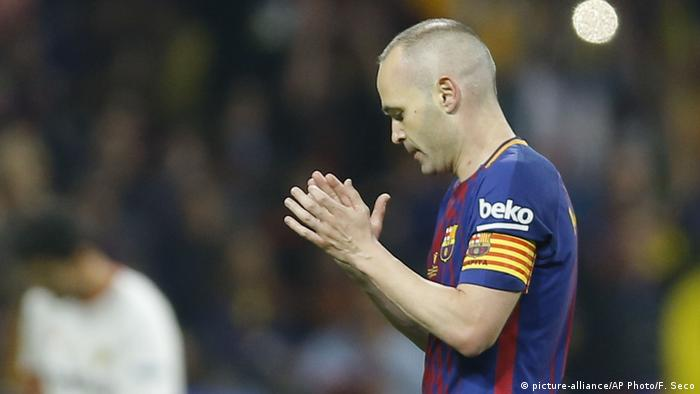 Fußball Spanien | Andres Iniesta von FC Barcelona (picture-alliance/AP Photo/F. Seco)
