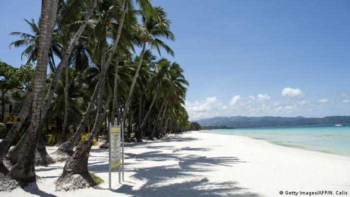 Philippinen Schließung Insel Boracay (Getty Images/AFP/N. Celis)